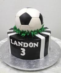 Soccer Theme Cakes