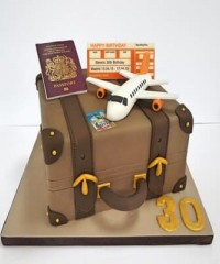 Holiday and Travel Theme Cakes