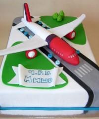 Aeroplane Theme Cakes