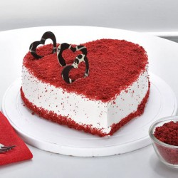Send Online Anniversary Cakes  For Delivery in Ghaziabad: Midnight Delivery Available
