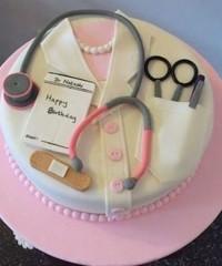 Doctor Theme Cakes
