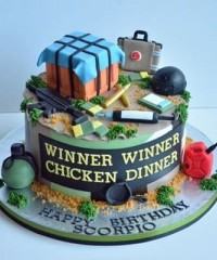 PUBG Theme Cakes