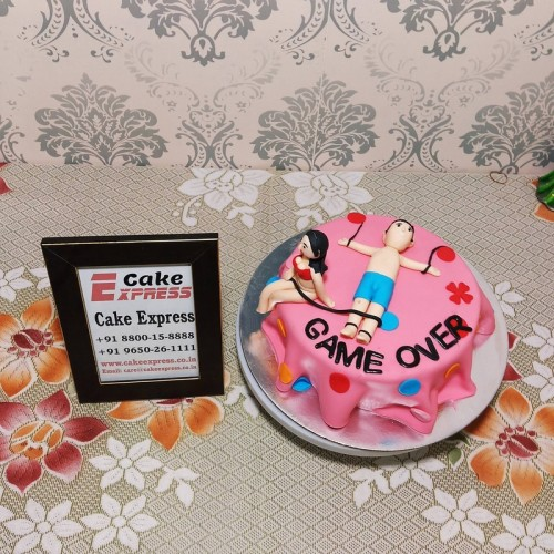 I Am Getting Married Bitches Theme Cake Delivery in Ghaziabad